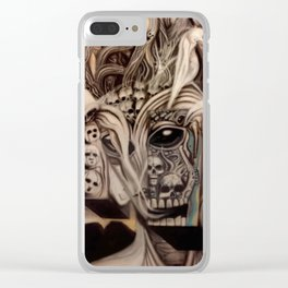 Ghost Machine Clear iPhone Case