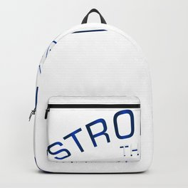 Stronges Colon Cancer Awareness Gift Backpack
