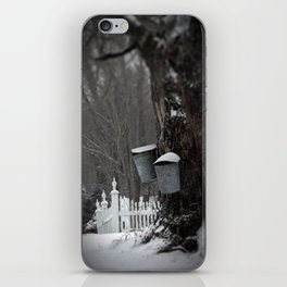 Sugaring 1 - Maple Syrup iPhone Skin