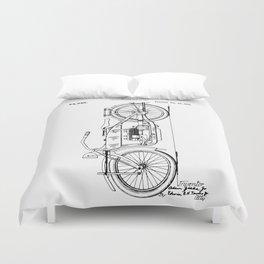 Harley Patent: Model W Duvet Cover