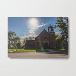 Holy Trinity Catholic Church, Fingal, North Dakota 2 Metal Print