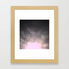 Fade to black Framed Art Print