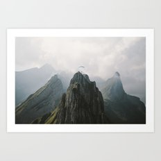 Flying Mountain Explorer - Landscape Photography Art Print
