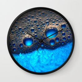 Blue Jello Wall Clock