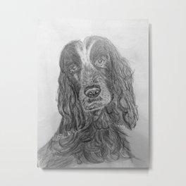 """""""Hamish"""" Print Metal Print"""