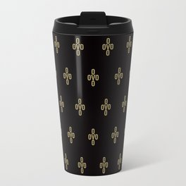 Pom Pom - Black Travel Mug