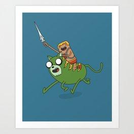Finn the He-Man Art Print