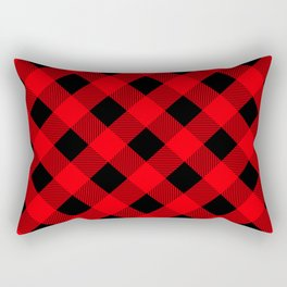 Buffalo Plaid Scottish Lumberjack Rectangular Pillow
