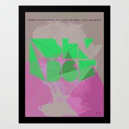 BLK365 - Africa Art Print