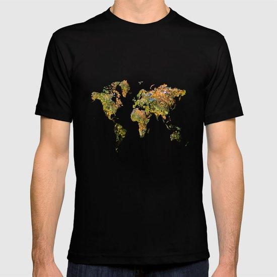 world map T shirt by Haroulita Society6