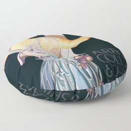 Joseph Christian Leyendecker - Arrow Collars And Shirts For Dress - Digital Remastered Edition Floor Pillow