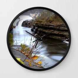 Quebec River Wall Clock