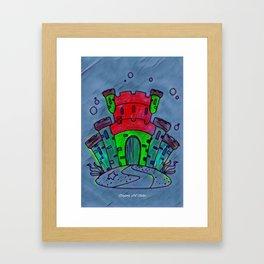 Mermaid Castle 21 Framed Art Print