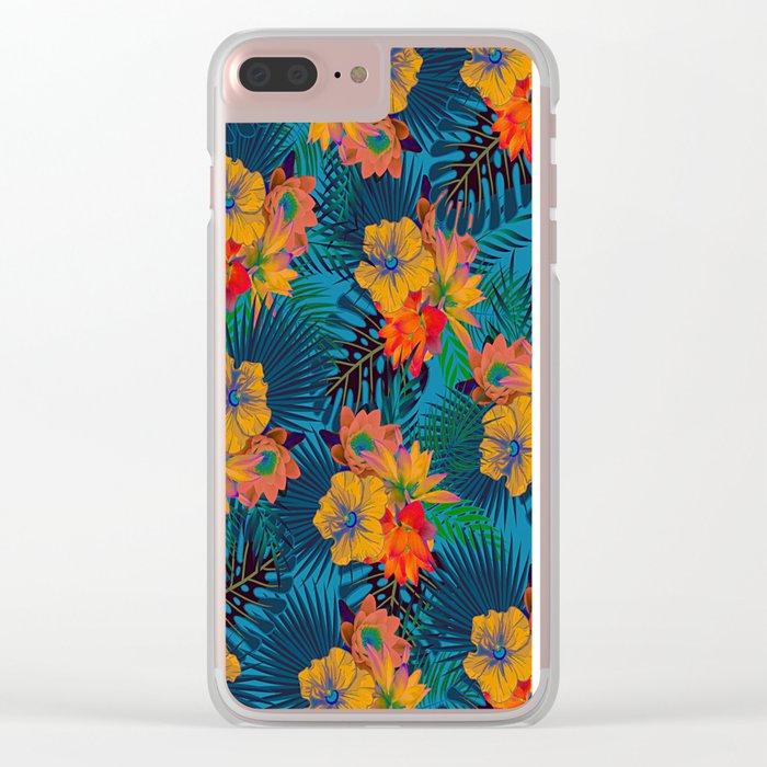 My Tropical Garden 17 Clear iPhone Case