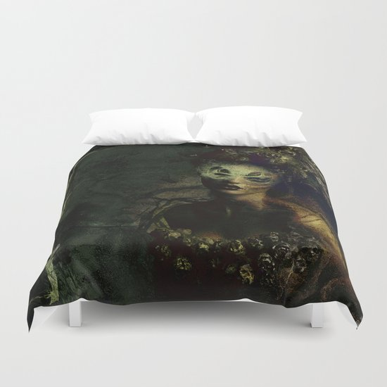 The guard of the purgatory Duvet Cover