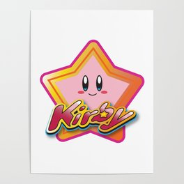Kirby the Superstar (Icon) Poster