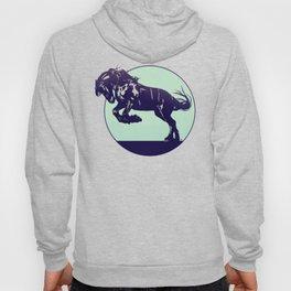 Dark Blue Stallion Hoody