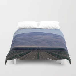 You Will Move Mountains Duvet Cover