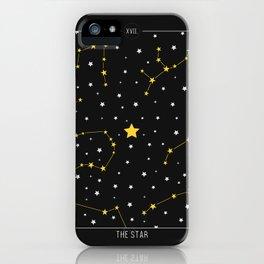 The Star - Tarot Illustration iPhone Case