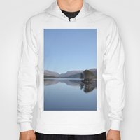 scotland Hoodies featuring Scotland Beauty by Eugene Lee