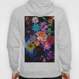 Colorful Fractal Flowers Hoody