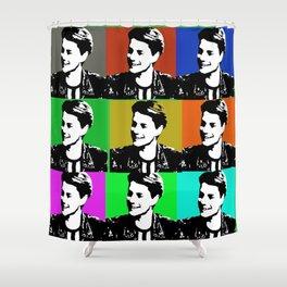 jace norman print art Shower Curtain