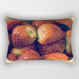 Strawberry fields forever.... Rectangular Pillow