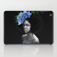 afro iPad Cases featuring Blossom afro by Masha