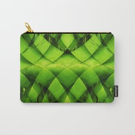 woven plant Carry-All Pouch