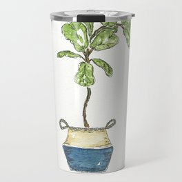 Fiddle Leaf Fig Travel Mug