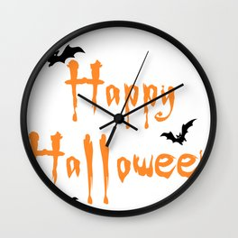 Halloween Scalable Wall Clock