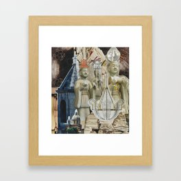 Hierophant Framed Art Print