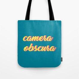 camera obscura Tote Bag