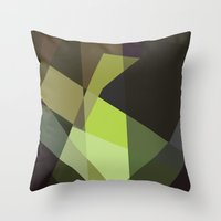 prometheus Throw Pillows featuring Prometheus by mobokeh