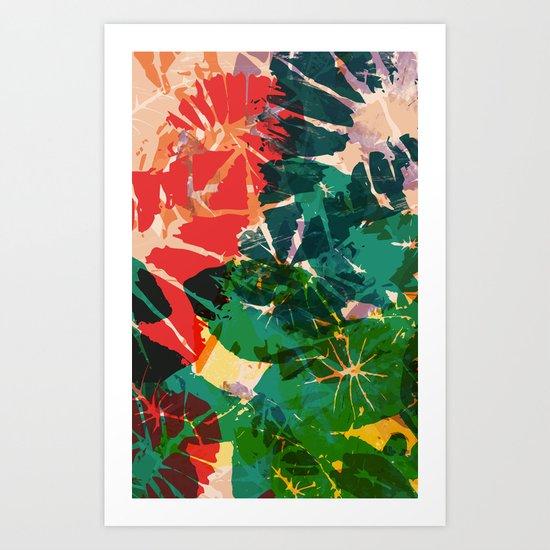 Calladium Two Art Print