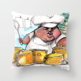 Creole Cooking Throw Pillow