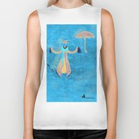 mary poppins Biker Tanks featuring Mary Poppins by fedralita
