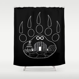 First Nations Shower Curtain