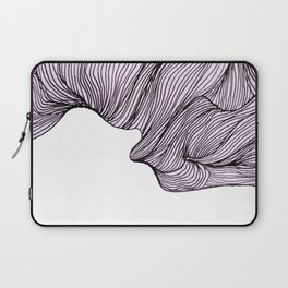 Abstract organic line drawing doodle 4 Laptop Sleeve