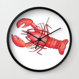 Lobster: Fish of the World Wall Clock