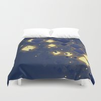 data Duvet Covers featuring Data Skys by ReinventZen