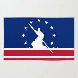Richmond  city flag united states of america Virginia Rug