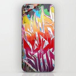 graffiti iPhone Skin