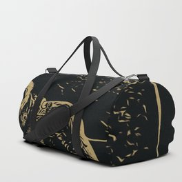 Old Bear and the Trunk Duffle Bag