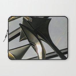 Steel and Platinum Laptop Sleeve