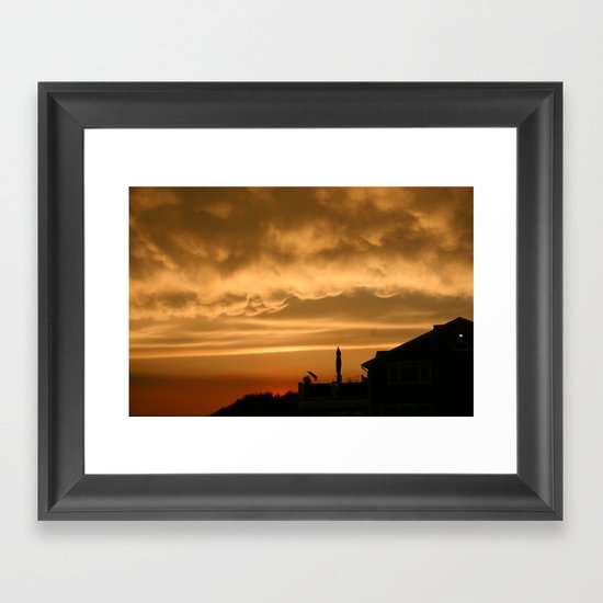 Point to the Sky Framed Art Print