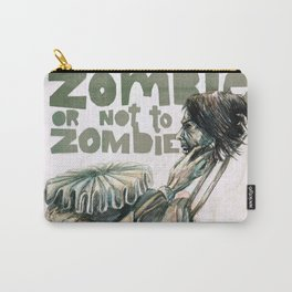 Zombie + Shakespeare Carry-All Pouch