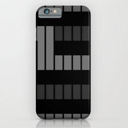 Black and grey tones ... iPhone Case