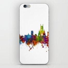 Worcester England Skyline iPhone Skin