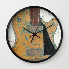 Les Paul Guitar Wall Clock